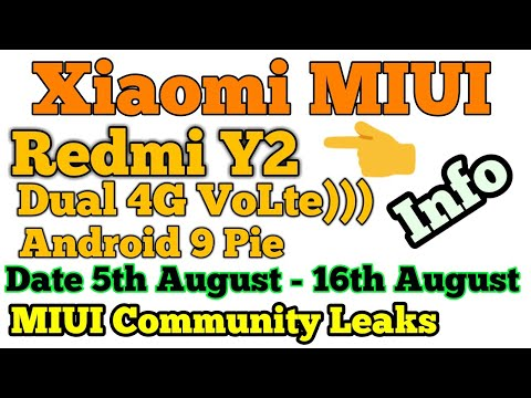Repeat redmi Y2🔥 android pie in global stable update