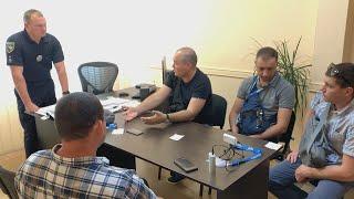 Фото КДК на приеме у заместителя  начальника Департамента патрульной полиции