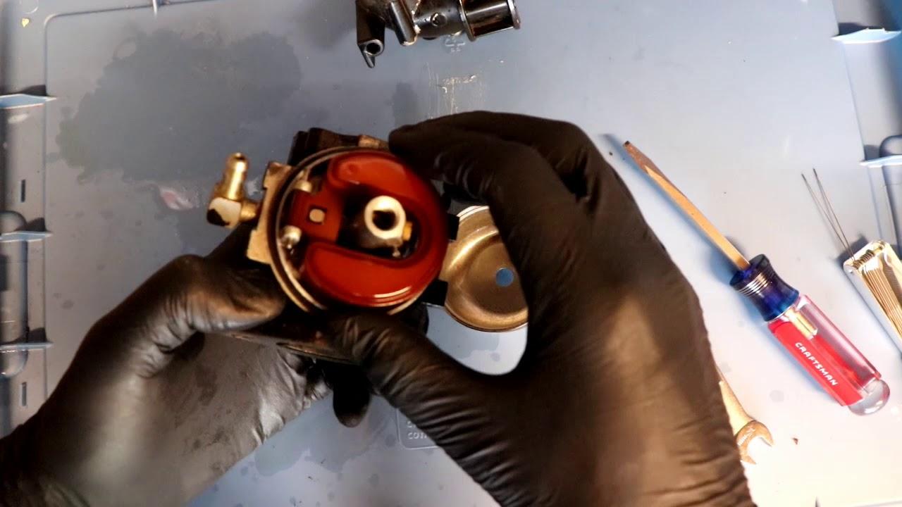 Cleaning the Carburetor on a Kohler Magnum 18 Engine that is Surging