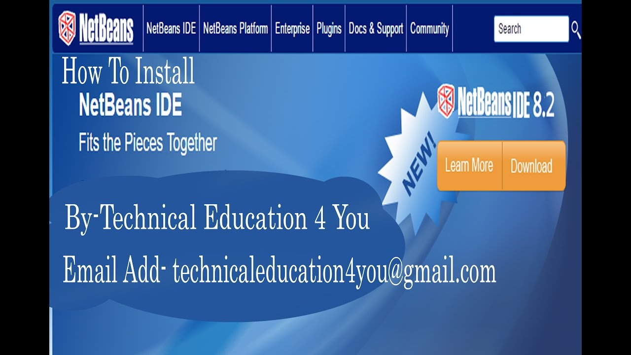 How to install netbeans ide 8. 2 in debian, ubuntu and linux mint.