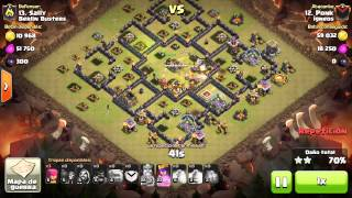 [Clash of Clans] Stoned GoHog | TH9 | 3stars #024