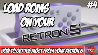 How To Play Roms from SD Card on your Retron 5