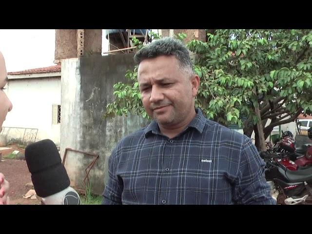 Secretário de obras explica que as chuvas atrapalharam a manutenção de estradas no setor Cannaã