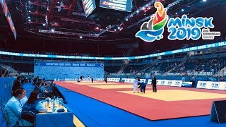 В Минске стартовал международный турнир по дзюдо/ European judo open tournament started in Minsk