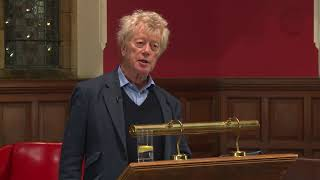 Sir Roger Scruton at the Oxford Union