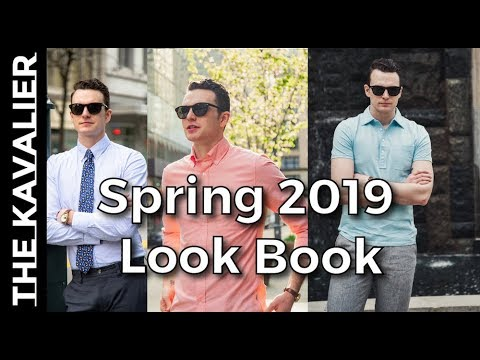 Spring 2019 Style Inspo - Linen, Business Casual, OCBD | Look Book 1