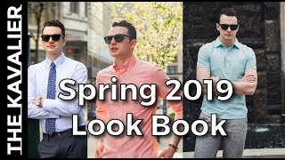 Spring 2019 Style Inspo - Linen, Business Casual, OCBD | Look Book
