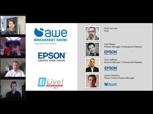 AWE Breakfast Show, featuring Epson Projectors