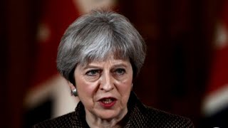 "Theresa May says there was ""no alternative"" to striking Syria"