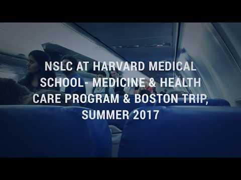 NSLC at Harvard Medical School- Medicine & Health Care Program & Boston Trip, Summer 2017