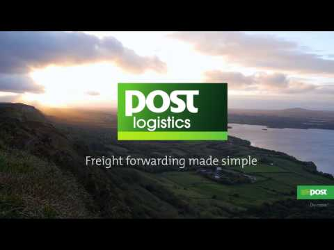 How to use Post Logistics freight forwarding service