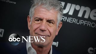 New details of Anthony Bourdain