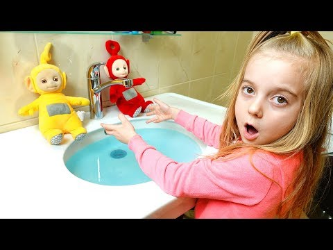 Ulya play with Teletubbies Toys