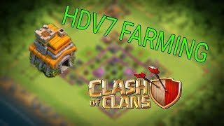 SPEED BUILDING - VILLAGE HDV7 FARMING -  COC