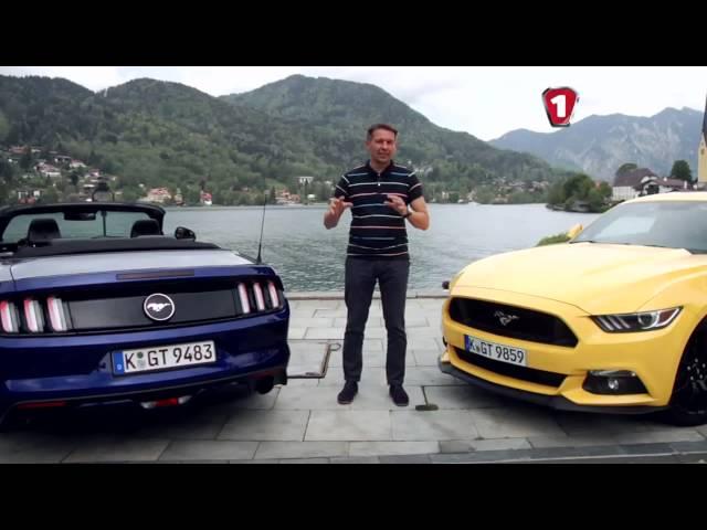 «Перший тест» Ford Mustang 2015