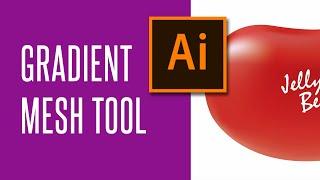 Adobe Illustrator - Gradient Mesh Tool | Объёмный градиент в Иллюстраторе | Не Андерталец