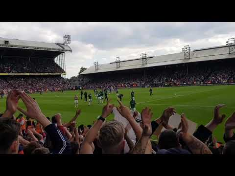 West Bromwich Albion Players Thank Fans And Palace And West Brom Fans Confront Each Other!!