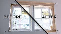 How to Install Window Casing and Interior Trim