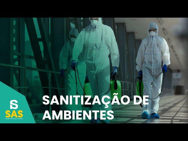 Águia Construções | Explicativo SAS - Sanitização de Ambientes