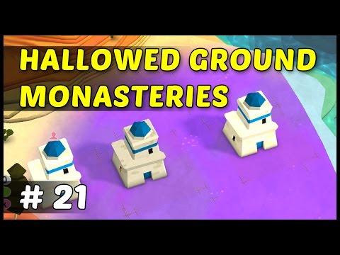 HOLLOWED GROUND MONASTERIES - Godus - Episode 21