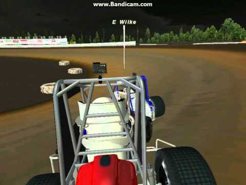 POWRi Midgets A Main Cowtown Speedway 1/28/16