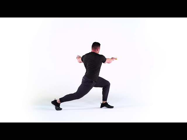FRONT LUNGE & TURN