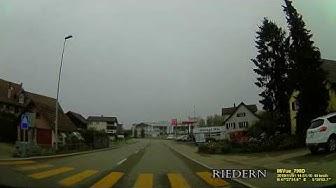 CH: Riedern. Gemeinde Mörschwil. Kanton St. Gallen. Ortsdurchfahrt. November 2019