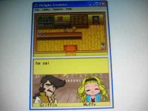 Harvest Moon DS Cute - Griffin & Muffy Black Rival
