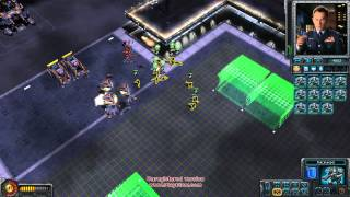 Red alert 3 : Uprising challenge 41 :Battle room( Nanoswarm hive)
