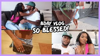 MY BIRTHDAY VLOG!   Surprise Gifts From Bae, Designer Bag Shopping, & More!