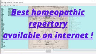 complete dynemics   Best free offline homeopathic repertory    just dowmload ,install and use ! screenshot 1