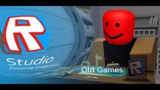 Meine alten Roblox Studio Spiele