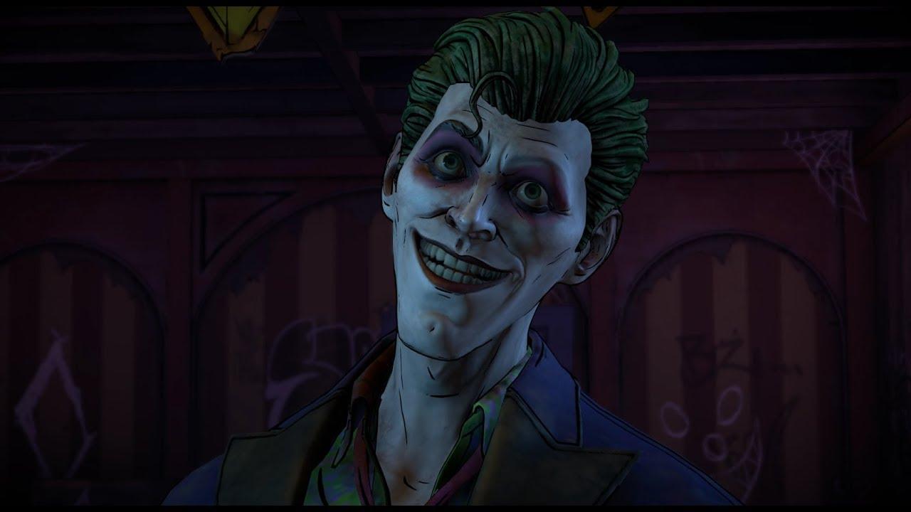 batman vs villain joker fight batman the enemy within episode