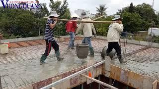 Đổ bê tông sàn kiếm 600k một ngày công có dễ dàng không I Construction 4.0