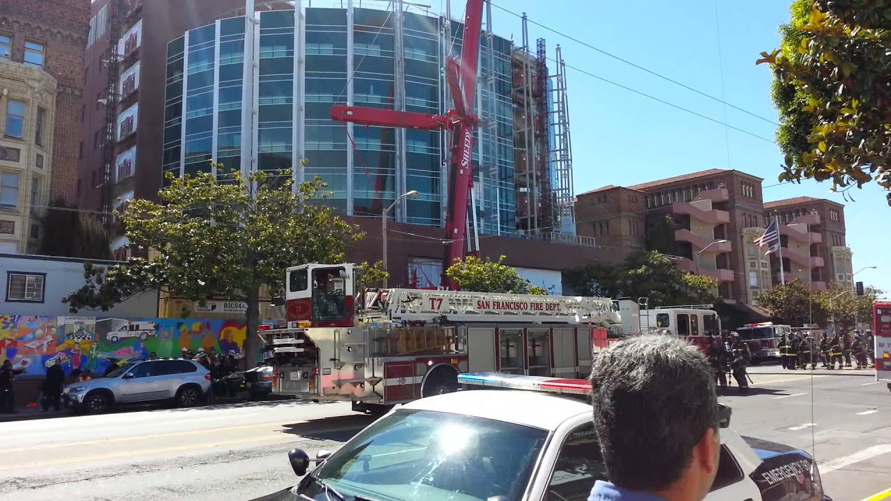San Francisco General Hospital Fire YouTube