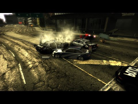 NFS Most Wanted: No HUD & Nice Cops