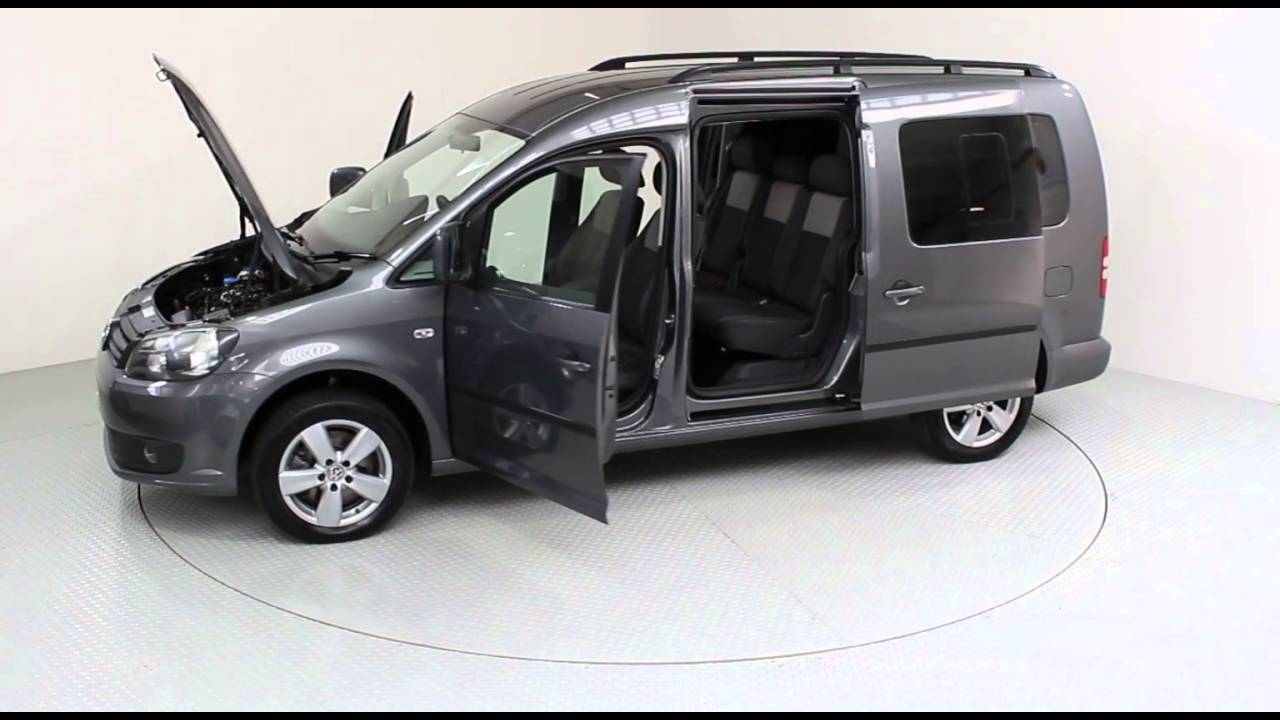 volkswagen caddy maxi 1 6 tdi c20 life dsg 5dr 7 seats from used cars of bristol wf12jvc youtube. Black Bedroom Furniture Sets. Home Design Ideas