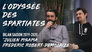 LE BILAN DE LA SAISON 19-20 - Julien Pisapia & Frédéric Robert-Demolaize - Staff médicale