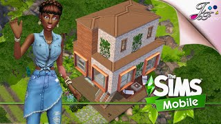 The Sims Mobile 🌱🍃  FLOATING ECO HOME   Includes All Eco Workshop Packs 1-6 \u0026 STS Prizes.
