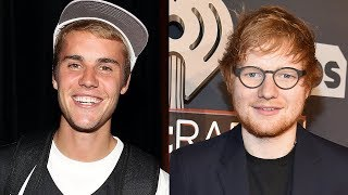 Justin Bieber Says Ed Sheeran