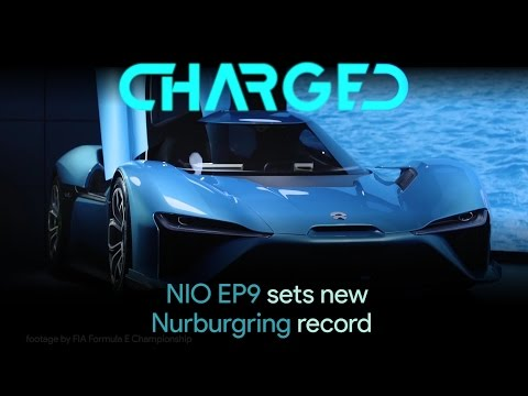 NIO EP9 electric supercar sets new Nürburgring lap record