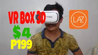 VR Box 3D Virtual Reality Glasses Unboxing Lazada