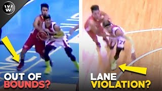 Out of Bounds ni Scottie? Lane Violation ni Santos? | In-Depth Review ng Game 5
