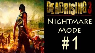 Dead Rising 3 - Co-op (Nightmare Mode) - Chapter 0
