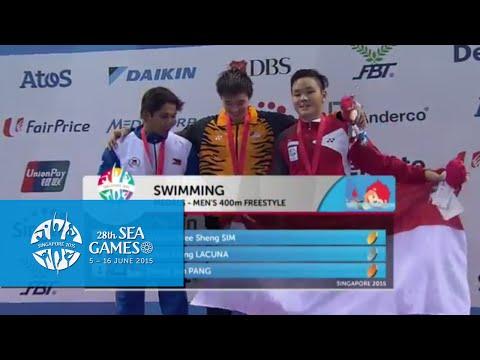 Swimming Men 400m