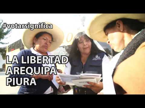 Así Se Vivió La Fiesta Electoral En Cajamarca