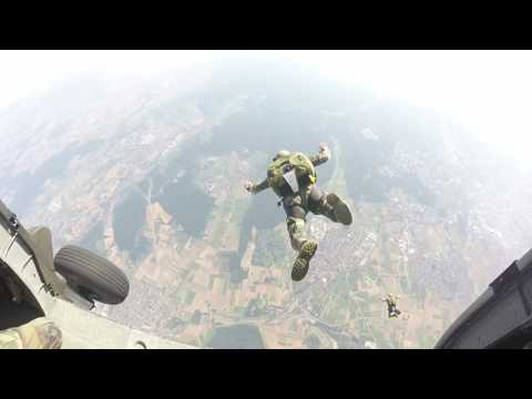 MARSOC and Navy Special Warfare Unit 2 - a 13,000 Foot Free-fall!