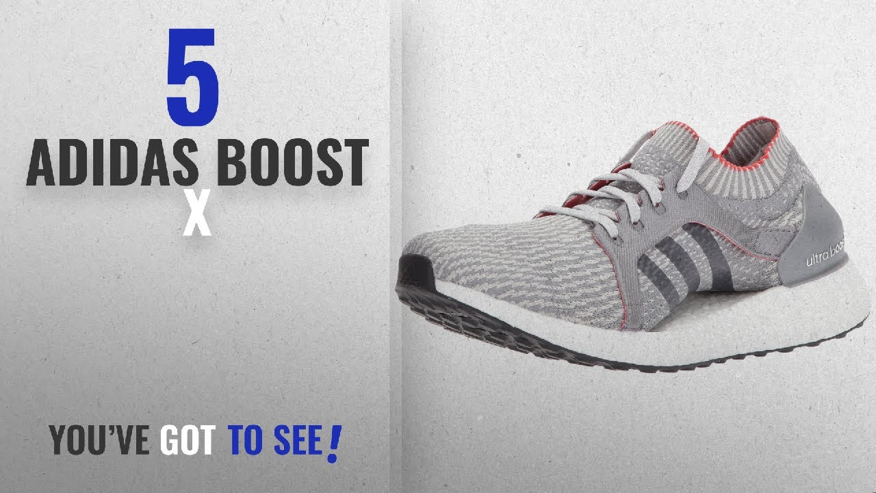 757be70a6fabe Top 5 Adidas Boost X  2018   adidas Originals Women s Ultraboost X Running  Shoe