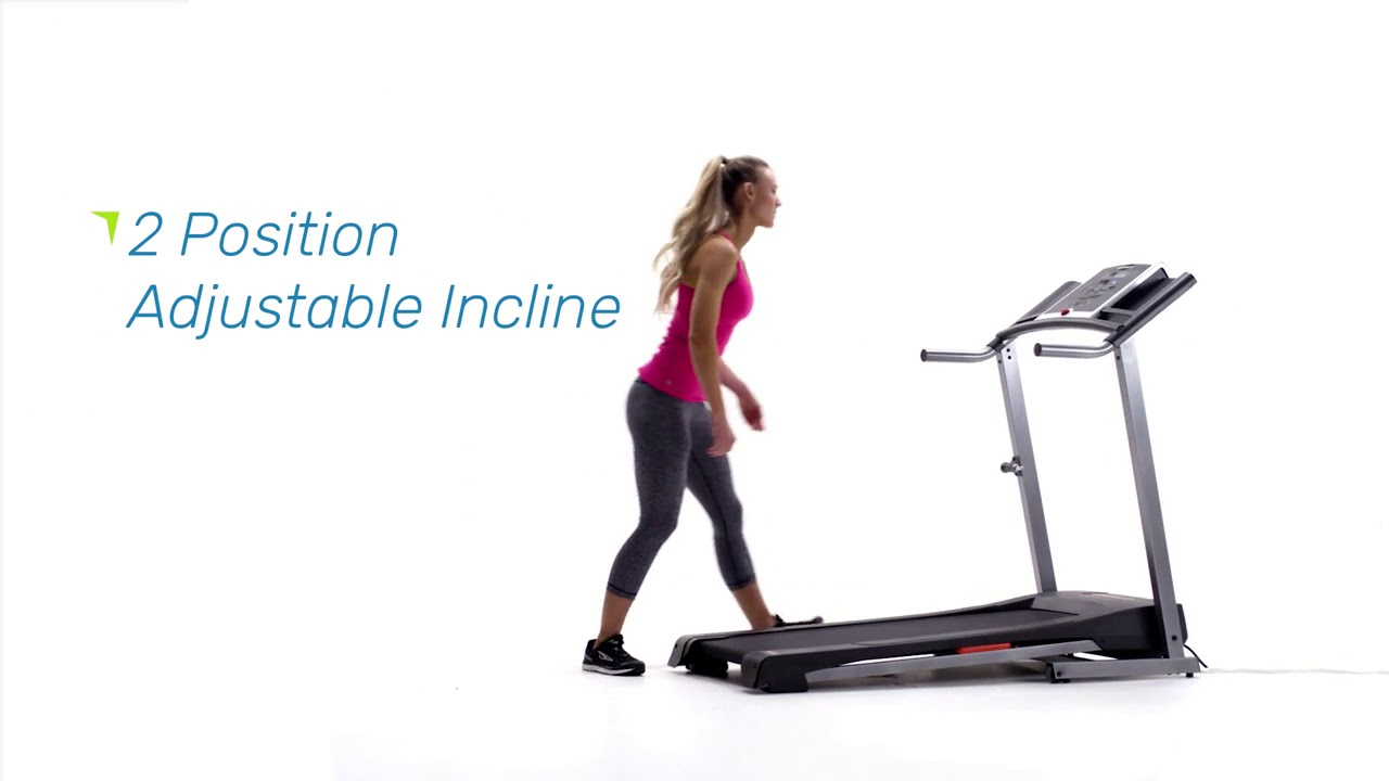 Weslo Cadence R 5 2 Folding Electric Treadmill with iFit Coach Technology