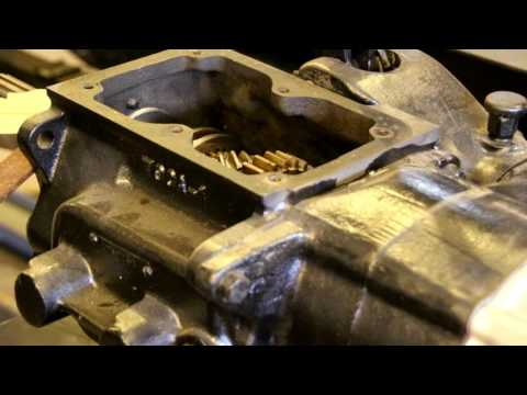Willys fuel tank restoration, lubricating transmission